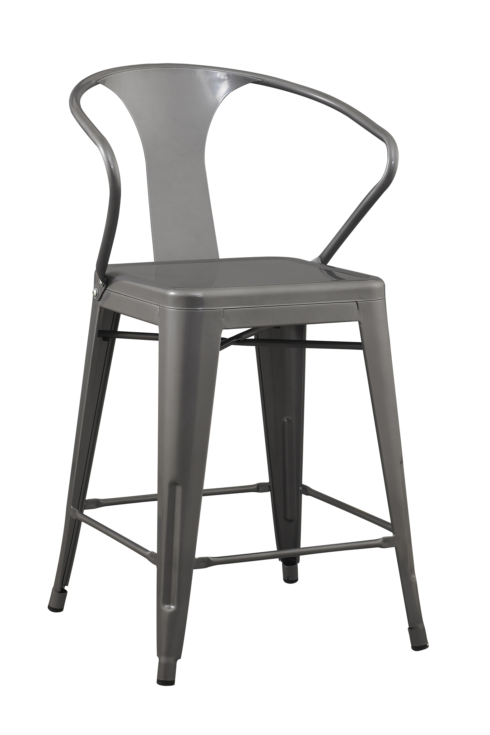 24 inch Solid Steel Stacking Industrial Silver Tabouret  : AM5009 24S 2 from www.richbattery.com size 1575 x 2362 jpeg 724kB